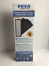 Veva Advanced Filters Premium Hepa Filter 4 Activated Carbon Pre Filters