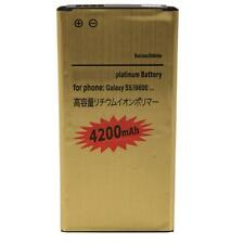 New Replacement Parts 4200mAh Gold Battery for  Samsung Galaxy S5 i9600 SM-900