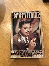 RARE: How Sweet It Is: The Jackie Gleason Story, HCDJ, 1985, !st, Ed., Very good