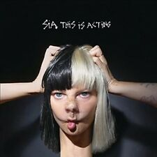 Sia This Is Acting 2016 European Coloured Vinyl 2-lp Mp3 & Poster