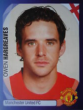 Panini 241 Owen Hargreaves Manchester United UEFA CL 2007/08