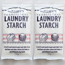 TRADITIONAL LAUNDRY STARCH Twin Pack by Kershaws