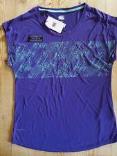 Canterbury Vapodri CCC Graphic Tee Purple sz 10 £647221