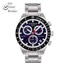 NEW TISSOT PRS 516 RETRO CHRONOGRAPH QUARTZ BLUE DIAL WATCH T044.417.21.041.00