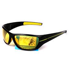Yellow Lens Night Vision Glasses For Headlight Polarized Driving Sunglasses