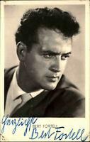 Autogrammkarte Autograph Film handsigniert BERT FORTELL ~1955 Autogramm Original