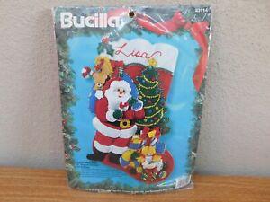 "Bucilla 18"" Christmas Eve Stocking 83114 Needlecraft"
