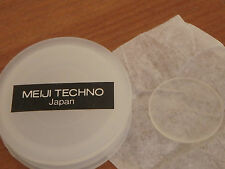 NEW Meiji Techno eyepiece graticule 19mm for microscope ; 1cm=100 divs