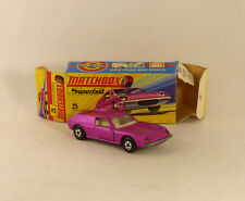 Matchbox Lesney Superfast  # 5 Lotus Europa NM/boîte  (# A7)
