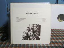 Who Unreleased - Live vinyl LP -     TMOQ TAKRL  LPB-27