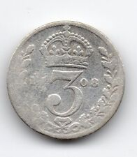 Great Britain - Engeland - 3 Pence 1908