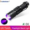 UV Led Flashlight Torch 395nm  Violet Light Lamp Marker Checker Cash Detection