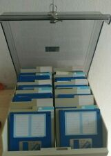 Diskettenbox für (100) 3.5 Zoll Disks (w key & 4 Register + 50 Disk) Amiga df