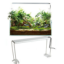 4PCS Stainless Steel Aquarium Stand For Aquatic High LED Light Lamp Fish Tank Ho