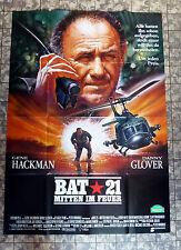 BAT 21 * GENE HACKMAN - A0-VIDEOPOSTER XL -German 2-Sheet VIDEOPOSTER ´89 CASARO