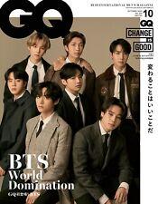 GQ JAPAN 2020.10 / BTS Cover 방탄소년단 K-POP / Japanese Magazine