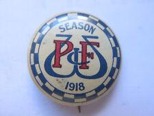 1918 WEST PERTH FOOTBALL CLUB MEMBERSHIP TINNIE BADGE WEST AUSTRALIA VERY RARE