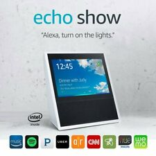 Amazon Echo Show 1st Generation White Alexa Smart Home Speaker