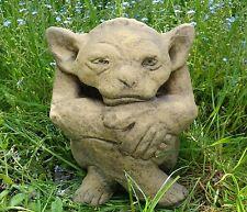 "Gremlin gobelin Troll Statue Frost Preuve Pierre Décoration De Jardin 20cm/8"" H"