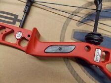 "Elite Archery Emerge Target Bow Crimson Red Riser 50# Rh 27.5"" Ee50C Sale!"