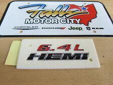 Chrysler Dodge Jeep SRT 392 6.4L HEMI Chrome Red & Black Emblem Badge Mopar OEM