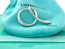 Tiffany & Co Sterling Silver Peretti Large Letter A Initial Charm Pendant 2010C