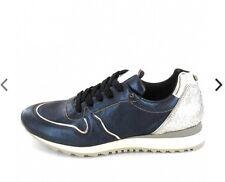 Donna carolina Sneaker Blau Gr 42 Metallic Glitzer
