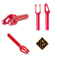 HPS Scooter Threadless SCS Pro Fork RED Phoenix MGP Proto HIC Compatible
