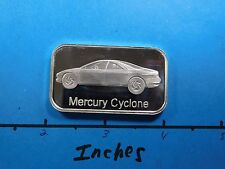 FORD MERCURY CYCLONE REMANUFACTURED PART SERIES 1997 VINTAGE 999 SILVER BAR RARE