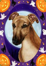 Greyhound Fawn Mask Halloween Howls Flag