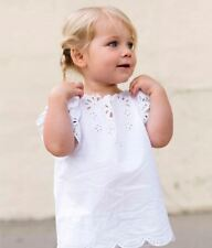 STELLA MCCARTNEY KIDS IVORY BRODERIE ANGLAISE ARTEMIS TOP 4 YEARS