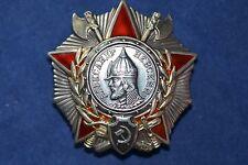 ORIGINAL SOVIET RUSSIAN USSR AWARD BADGE ORDER  OF NEVSKY 38732