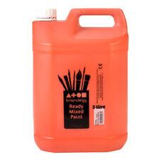 Brian Clegg Ready-mix Paint 5 Litre - Orange