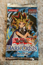 YuGiOh! Dark Crisis 1st Edition Booster Pack ENGLISH New Sealed Pristine 2003