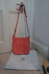 Hermes Evelyne 29 cm Medium/PM Coral Pink