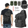 Military Tactical Sling Backpack Army Molle Waterproof EDC Outdoor Rucksack Bag