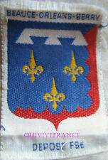 BG6910 - INSIGNE TISSU PROVINCE BEAUCE-ORLEANS BERRY - SCOUTS D'EUROPE
