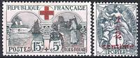 FRANCE ANNEE COMPLETE 1918 YVERT 156/157 , 2 TIMBRES NEUFS xx LUXE   M890