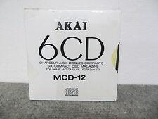 AKAI mod. MCD 12 - caricatore per 6 CD
