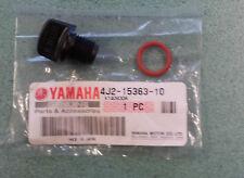 YAMAHA PW50 GEAR OIL FILLER CAP AND O RING. GENUINE YAMAHA. OEM. 4J2-15363-10