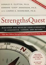 Strengths Quest by Donald O. Clifton, Edward Anderson, with Laurie A. Schreiner
