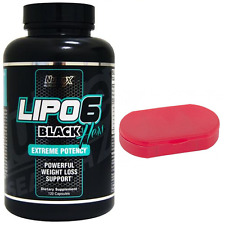 LIPO 6 BLACK HERS EXTREME 120caps NUTREX Fat burning Thermogenic