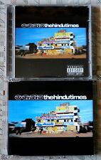 OASIS The Hindu Times 2002 cd + dvd LTD UK Noel Liam BIG BROTHER