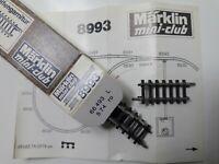 Z, Märklin, 8593, 1 Kehrschleifengarnitur, 4teilig, 1974, die 1.! - in OVP, K 2!