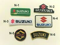 Suzuki Car Motorcycle Sports Racing Patch Iron On Sew On Embroidered Badge New