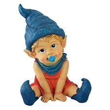 "11"" Archibald the Baby Gnome Statue Outdoor Decor Figurine Figure Elf"