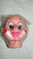 "5"" RUBBER CLOWN DOLL HEAD -  NOS"