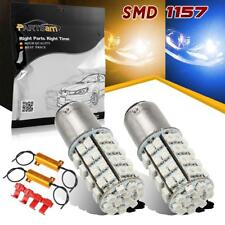 1157 Switchback Led Amber/Blue Bulbs Replacement for Turn Signal Light 7258 3496