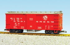 Usa Trains G Scale 1450B Outside Braced Box Car Great Northern (#63633) - Red/Si