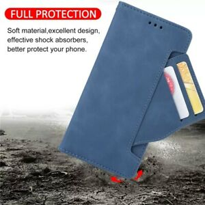 For iPhone 13 12 11 Pro Max 13 12 Mini Magnetic Flip Leather Wallet Case Cover